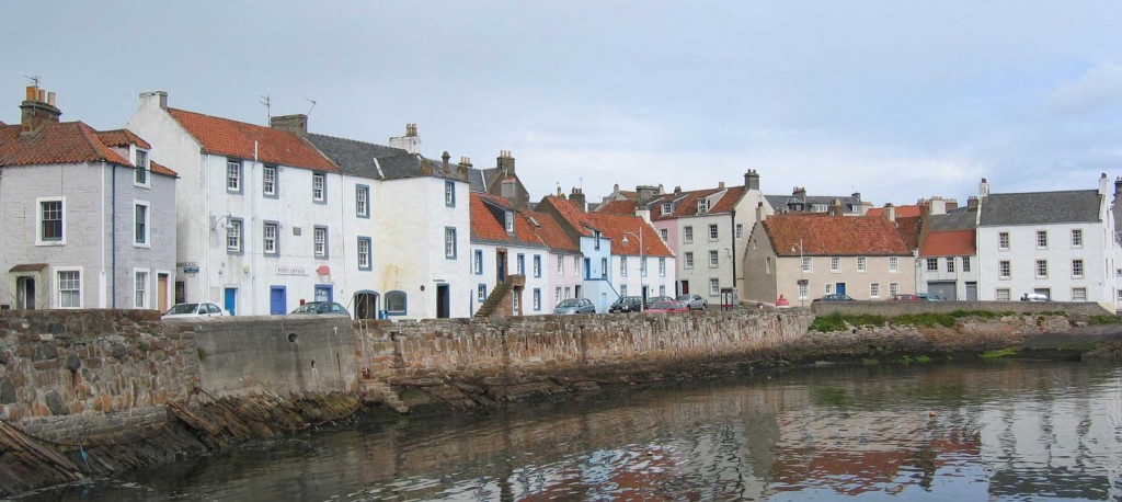St Monans - a typical Fife fishing village